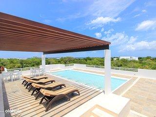 Brand New Garden Apartment in Sirenis Complex