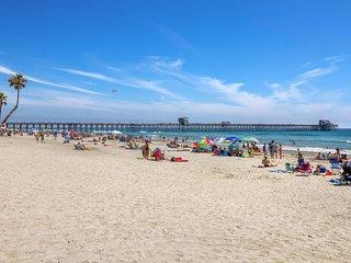 Ocean View Steps to Best Beach in Oceanside