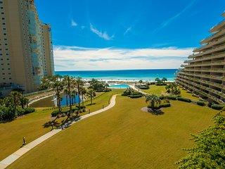 Beautiful beachfront condo with shared pool and playground!