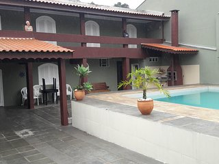 Outstanding House With Large Pool Close to Prainha and Caioba Beaches