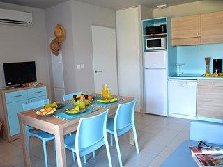 Appartement Proche de la Plage | Piscine exterieure + Sauna