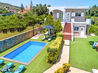 Chania City Villa with Heated Pool