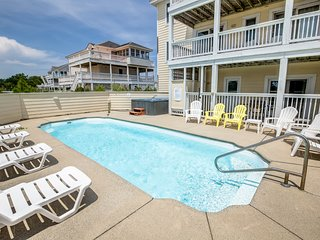 Dreamer's Paradise | 999 ft from the beach | Private Pool, Hot Tub | Corolla