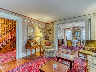NEW LISTING! Historic Greek Revival style home near attractions!