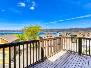 Dog-friendly property w/ fireplaces, decks, dock access, & lake views!