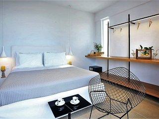 Double bedroom studio with Sea View