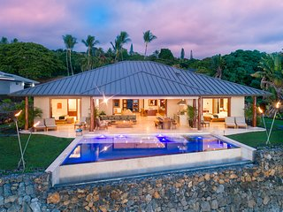 Private Luxury Home w/Central AC, Pool & Spa, Sunset & Ocean Views, Ali'i Villa
