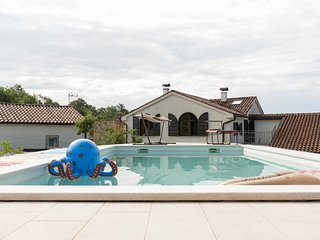 Beautifully renovated old stone house with large private outdoor pool
