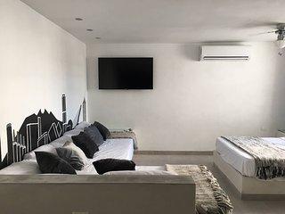 Suite Black & White -Aeropuerto y Centro Apodaca