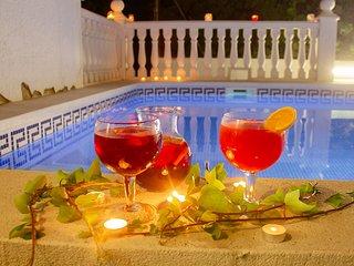 ROCA Gran villa piscina privada y WiFi gratis