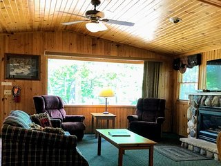 New! Wolf Den Cottage at Black Bear Lodge Resort in Wisconsin's Northwoods!