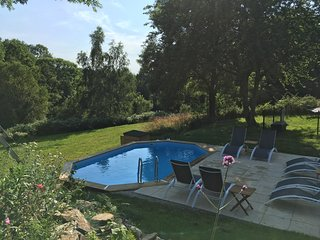 Chez Broche private Lake & Pool