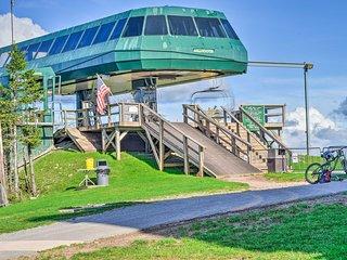 Ski-In/Out Snowshoe Slopeside Resort Condo!