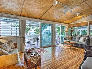 Kailua-Kona House w/ Oceanfront Deck & View