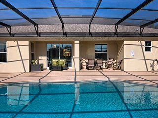☀ 10 Guest Villa | Pool & Spa | Games Room | Near Disney