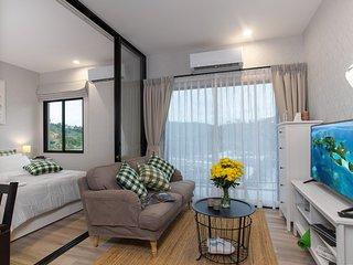 Cozy 1BD apartment near the NaiYang beach