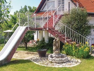 Beautiful apartment in Siófok w/ Outdoor swimming pool, WiFi and 1 Bedrooms