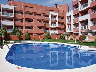 Nice apartment in Roquetas de Mar w/ Outdoor swimming pool, WiFi and Outdoor swi