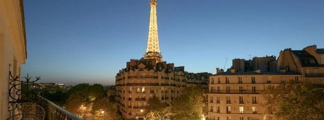 Step out on the balcony for an unforgettable Eiffel view!