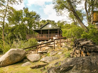 Classic Riverfront Cabin and Large Property on the Kern River