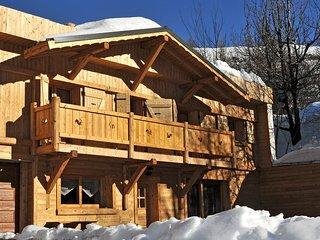 Chalet de Ski Rustique dans Les Deux Alpes + Cheminee | Pres de la Navette