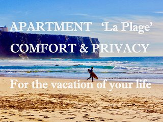 Apartment 'La Plage' Sl.3 Sea view WiFi/Smart TV, Privacy