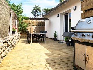 Gasthaus 'Petit Maison Kaliforni nur 200m vom Strand 'Plage de la Piste' !