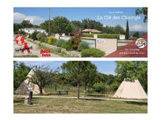 Holocamping La Clé des Champs: Um acampamento que nos quer bem!