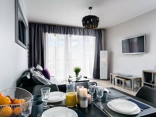6 person apartment in the city center