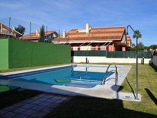 EPRP001-Chalet pareado 5 habs, El Portil, piscina comunitaria