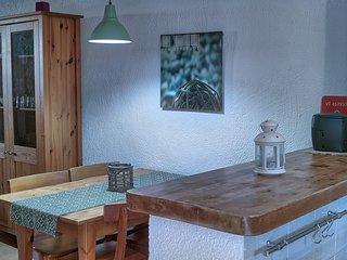 detalle mesa comedor y barra office