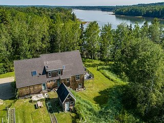 Quiet Retreat: 1,000 Ft of Waterfront Property on 7 Secluded Acres w/ Deck