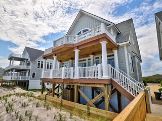 Island Drive 4246 Oceanfront! | Internet, Community Pool, Hot tub, Jacuzzi, Fire