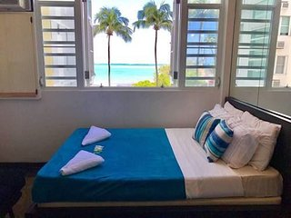 Oceanview Studio - 22 Steps From the Beach - Free Parking + Free WIFI