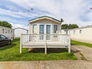 6 berth caravan holiday home for hire with decking at St Osyth's Park ref 28004