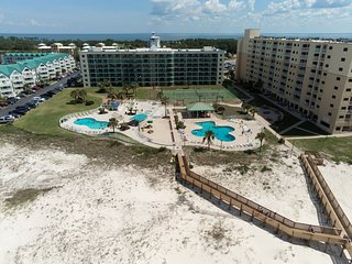 NEW! Waterfront Gulf-view condo w/shared pools, gym, hot tub at Plantation Dunes