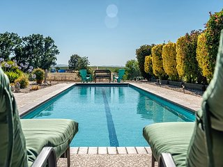 Pool, Vineyard Views, and Privacy Add Up to Your Paso Robles Perfect Stay!