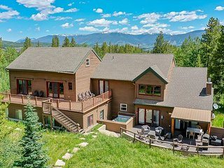 Rocky Mountain Outpost Home Hot Tub Frisco Colorado Vacation Rental