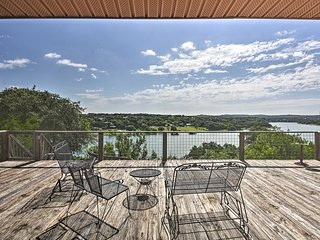'The Cloud House' Spicewood Home w/Lake Views!