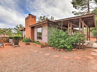 Modern W. Sedona Home w/ Patio+Red Rock Views