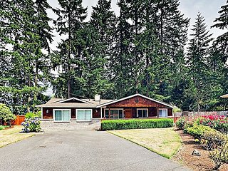 Spacious Updated Getaway Near Wine Country, State Parks & Kirkland Waterfront