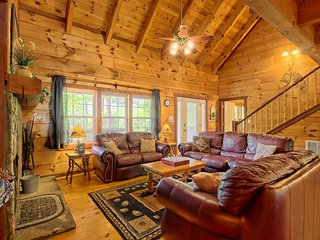 Dog-friendly mountain home for the next family getaway w/ hot tub & more!