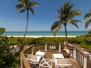 Sea Shells & Sunsets | 3BR & 3BA Beachfront on the Gulf | Special Rates!!!