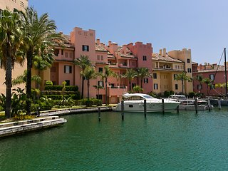 (NEW) Sotogrande Marina 2 Br Grnd Flr Apartment With 2 Terraces