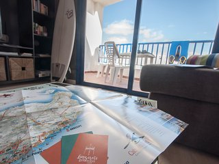 Paradiso Apartment with great views perfect for surf or family holidays