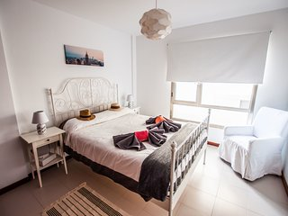 1 bedroom apartment in Arrecife centre with roof terrace