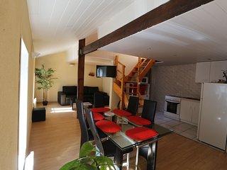 T3 2 Chambres 6 couchages Cholet centre avec parking