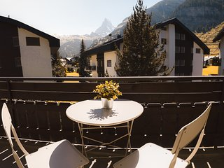 Beautiful apartment in Zermatt with a breathtaking view of the Matterhorn