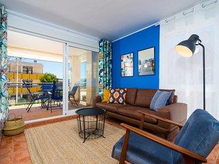 Augusta Apartment Jávea Sur, Estiloso con AC, Wifi, Terraza y Piscina