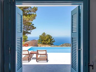 Early Bird Offer:Four bedroom Villa with private pool & views, in Lefkada Greece